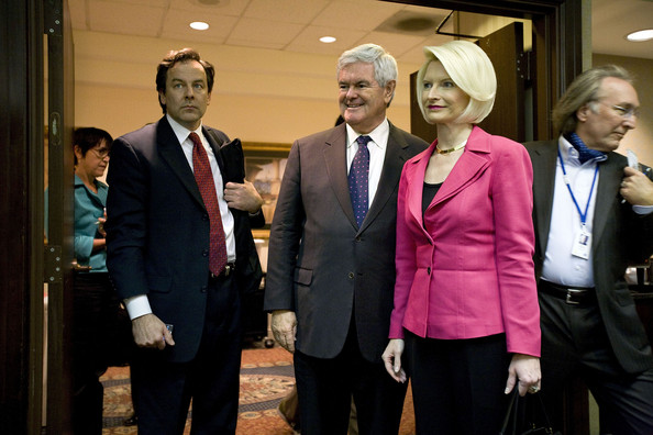 newt gingrich wives photos. Newt Gingrich Kicks Off