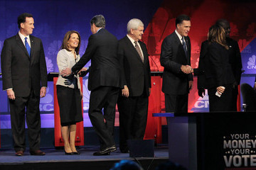 John Harwood Republican Presidential Candidates Debate In Michigan