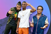(L-R) Quincy, Christian Combs and Justin Combs attend day 3 of REVOLT Summit x AT&T Summit on September 14, 2019 in Atlanta, Georgia.
