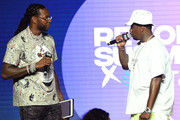 """2 Chainz and Sean """"Diddy"""" Combs attend day 2 of REVOLT Summit x AT&T Summit on September 13, 2019 in Atlanta, Georgia."""