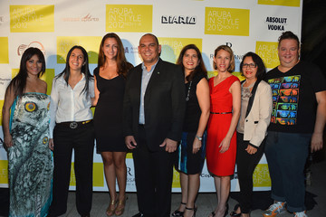 Reyhan Sofraci Aruba In Style Kickoff Party And Press Conference - Berjheny Perez LBD Charity Auction Benefiting Creciendo