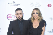 """Michael Costello and Diana Madison attend Rhonda's Kiss """"Kiss The Stars"""" Cancer Fundraising Dinner at The Estate Club's Sky Castle Estate on June 13, 2018 in Los Angeles, California."""