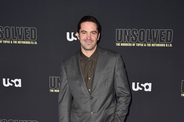 Rhys Coiro Premiere Of USA Network's 'Unsolved: The Murders Of Tupac And The Notorious B.I.G.' - Arrivals