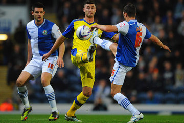 Rhys McCabe Blackburn Rovers v Sheffield Wednesday - npower Championship
