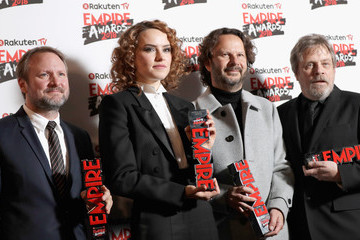 Rian Johnson Rakuten TV EMPIRE Awards 2018 - Winners Room