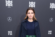attends the Riani show during the Berlin Fashion Week Autumn/Winter 2019 at ewerk on January 16, 2019 in Berlin, Germany.