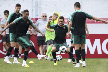 Ricardo Quaresma Portugal Training Session - FIFA World Cup Russia 2018