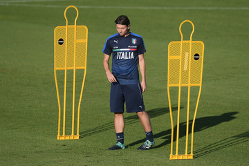 Riccardo Montolivo Italy Training Session
