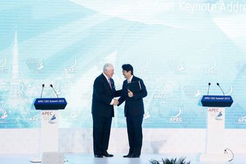 Richard Adkerson Business Leaders Gather For 2013 APEC Summit