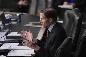 Richard Blumenthal Senate Holds Confirmation Hearing For Supreme Court Nominee Neil Gorsuch