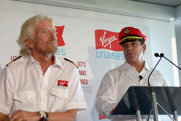 Richard Branson Sir Richard Branson Announces Virgin Cruises to Have Home Port in Miami