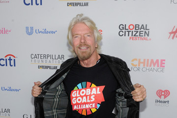 Richard Branson 2015 Global Citizen Festival in Central Park to End Extreme Poverty by 2030 - VIP Lounge