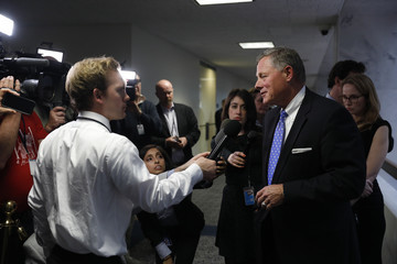 Richard Burr Senate Select Intelligence Committee Meets on Capitol Hill