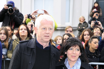 Richard Curtis Band Aid 30 Recording - Arrivals