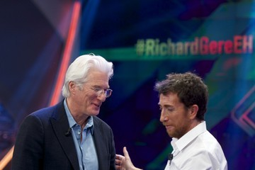 Richard Gere Richard Gere Visits 'El Hormiguero' TV Show