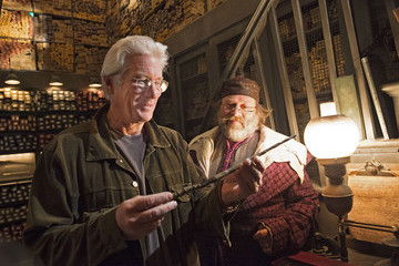 Richard Gere Richard Gere Visits Universal Orlando Resort and The Wizarding World of Harry Potter - Hogsmeade