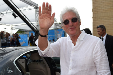 Richard Gere Maserati Arrivals at the Giffoni Film Festival