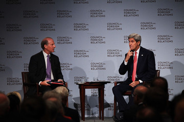 Richard Haass Secretary of State John Kerry Discusses the Iran Nuclear Deal in New York