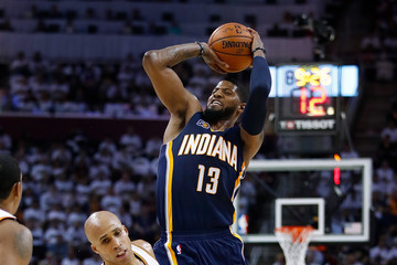 Richard Jefferson Indiana Pacers v Cleveland Cavaliers - Game One