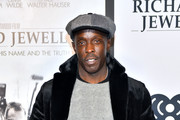 """Michael K. Williams attends the """"Richard Jewell"""" screening at Rialto Center of the Arts on December 10, 2019 in Atlanta, Georgia."""