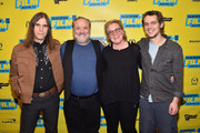 "(L-R) Graham Reynolds, Louis Black, Karen Bernstein and Ellar Coltrane attend the screening of ""Richard Linklater - Dream Is Destiny"" during the 2016 SXSW Music, Film + Interactive Festival at Paramount Theatre on March 12, 2016 in Austin, Texas."