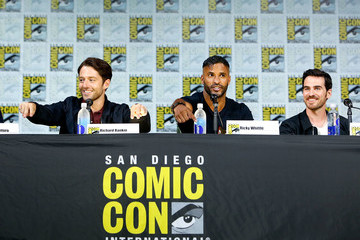 Richard Rankin Entertainment Weekly's 'Brave New Warriors' Panel at San Diego Comic Con 2017