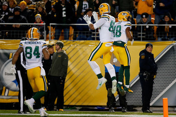 Richard Rodgers Green Bay Packers vPittsburgh Steelers