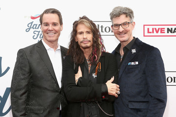 Richard Shaw Steven Tyler's 2nd Annual Grammy Awards Viewing Party To Benefit Janie's Fund Presented By Live Nation - Red Carpet