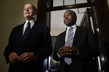 Richard Shelby HUD Secretary-Nominee Ben Carson Meets With Sen. Richard Shelby on Capitol Hill