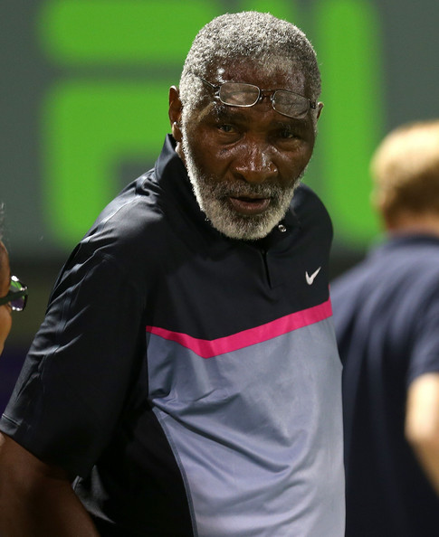 Richard Williams - Sony Ericsson Open: Day 8
