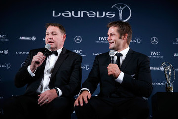 Richie Mccaw Winners Press Conference and Photocalls -  2016 Laureus World Sports Awards - Berlin