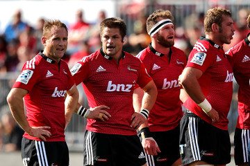 Richie Mccaw Super Rugby Rd 5 - Crusaders v Lions
