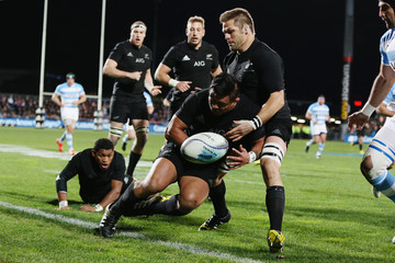 Richie Mccaw Keven Mealamu New Zealand v Argentina - The Rugby Championship