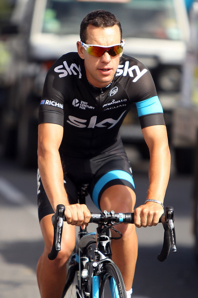 Richie porte pictures 2014 tour down under stage 5 for Richie porte cyclist