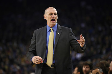 Rick Carlisle Dallas Mavericks v Golden State Warriors