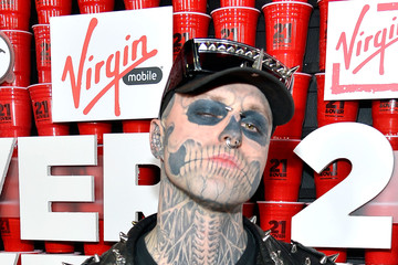 "Rick Genest Premiere Of Relativity Media's ""21 and Over"" - Red Carpet"