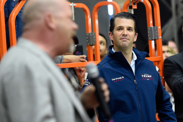 Rick Harrison Donald Trump Jr. Campaigns for HIs Father in Las Vegas