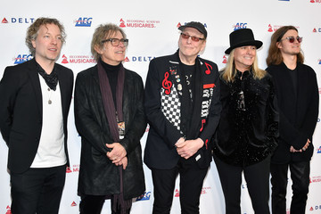 Rick Nielsen Tom Petersson 2020 Musicares Person Of The Year Honoring Aerosmith - Arrivals