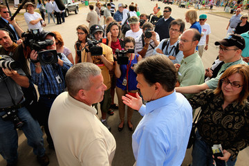 Bill Northey Rick Perry Visits Iowa State Fair