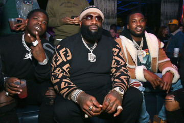 Rick Ross Meek Mill And PUMA Celebrate CHAMPIONSHIPS Album Release Party
