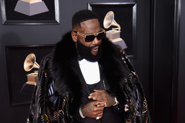 Rick Ross 60th Annual GRAMMY Awards - Red Carpet