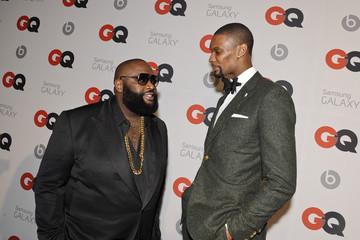 Rick Ross GQ & LeBron James All Star Party Sponsored By Samsung Galaxy And Beats - Arrivals