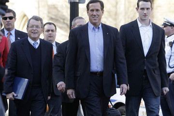 Mike Dewine Rick Santorum Makes Major Campaign Announcement In Ohio