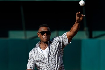 Rickey Henderson Cleveland Indians v Oakland Athletics