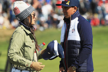 Rickie Fowler 2018 Ryder Cup - Morning Fourball Matches