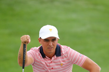 Rickie Fowler The Presidents Cup - Round Two