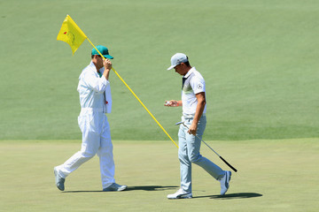 Rickie Fowler The Masters - Round One