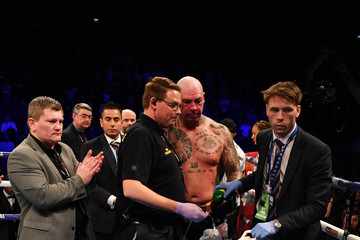 Ricky Hatton Boxing At The O2