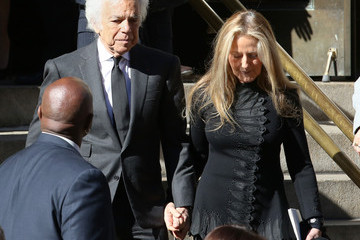 Ricky Lauren Funeral Held for Oscar De La Renta