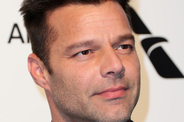 Ricky Martin 25th Annual Elton John AIDS Foundation's Oscar Viewing Party - Arrivals
